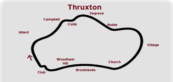 Thruxton-map