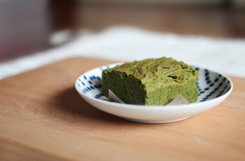 抹茶蛋糕 Green tea cake