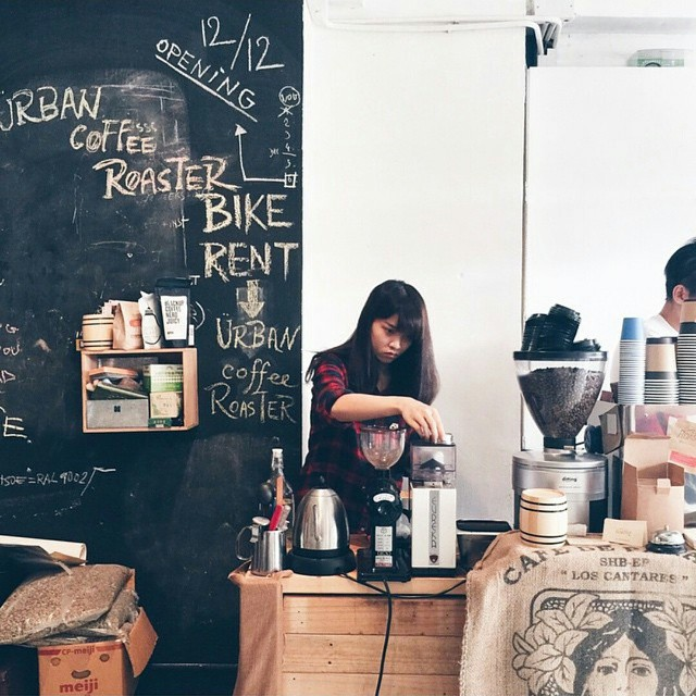 Urban Coffee Roaster香港咖啡廳
