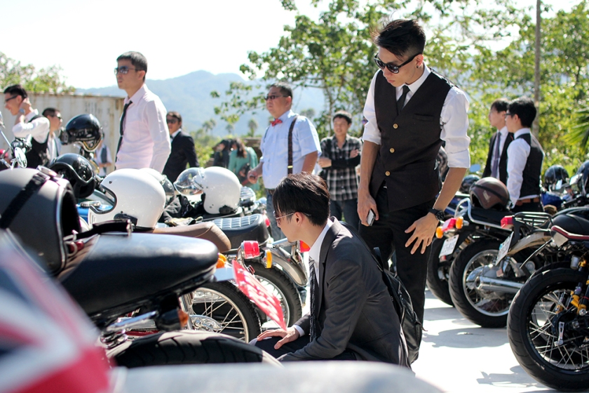 The Distinguished Gentleman's Ride Taiwan Taipei