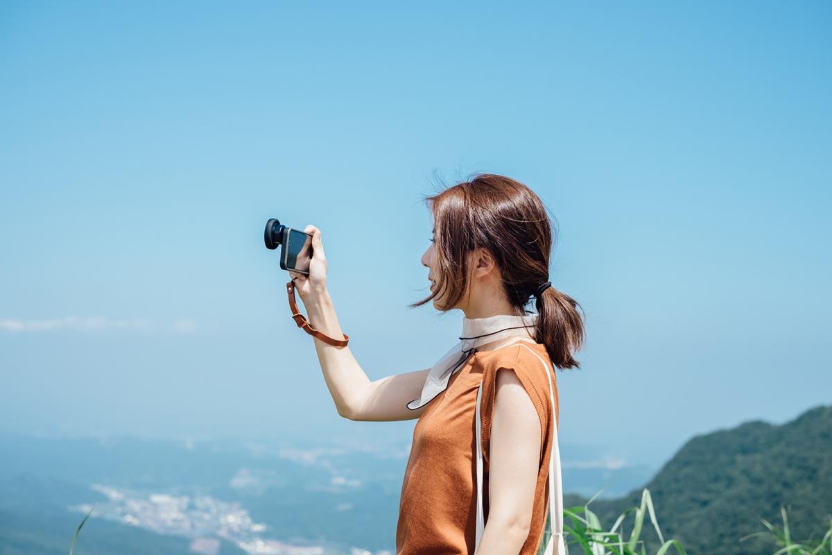 艷陽下的寂寞公路旅行 成為更好的生活探險家 bitplay SNAP!X HD高階廣角鏡頭 M52偏光鏡